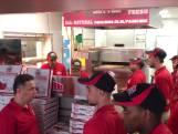 Gratis pizza's bij nieuwe vestiging Papa John's