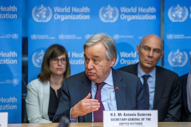 Secretaris-generaal van de Verenigde Naties, Antonio Guterres