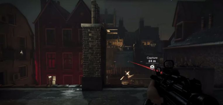Call of Duty in Amsterdam Beeld youtube/bossg