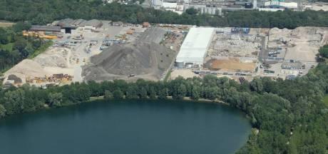 Afvalbedrijf Jansen in Son start met wegwerken asfaltberg