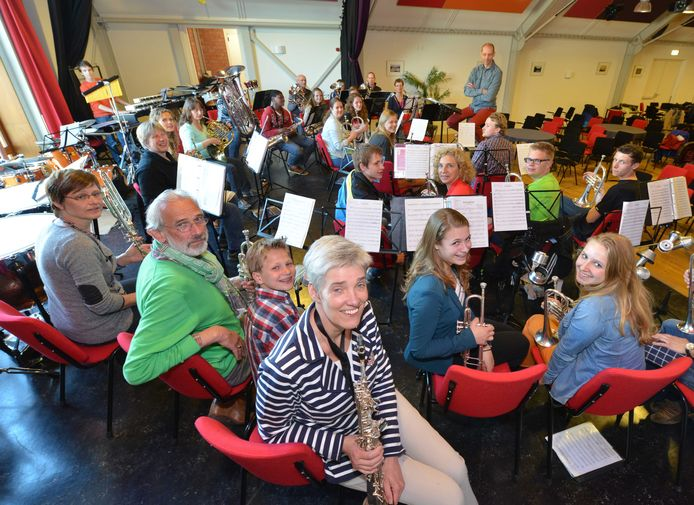 De fanfare Sint Caecilia in Schalkwijk is één van de Houtense instellingen die een beroep doen op subsidie.