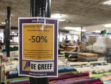 Textielwinkels en personeel van De Greef in Stiphout niet meer te redden