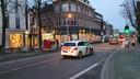 Winkels in het centrum van Breda zijn dichtgetimmerd.