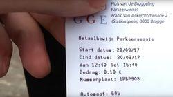 4 uur parkeren voor 10 cent in hartje Brugge? Dat kan dankzij dit trucje