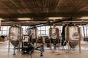 Het Haagse bier Eiber heeft een nieuwe brouwerij op de zesde verdieping van oude Philipsfabriek.