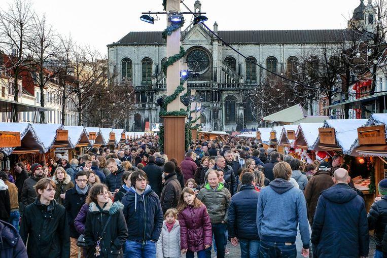 Winterpret lokt elk jaar heel wat volk naar de binnenstad.