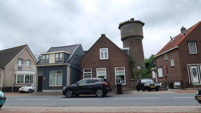 Een deel van het watertorenterrein in Sliedrecht valt straks ook onder de geluidszone. Op het terrein moeten woningen komen.