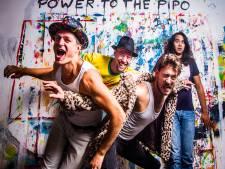 Power to the Pipo spettert in de grachten