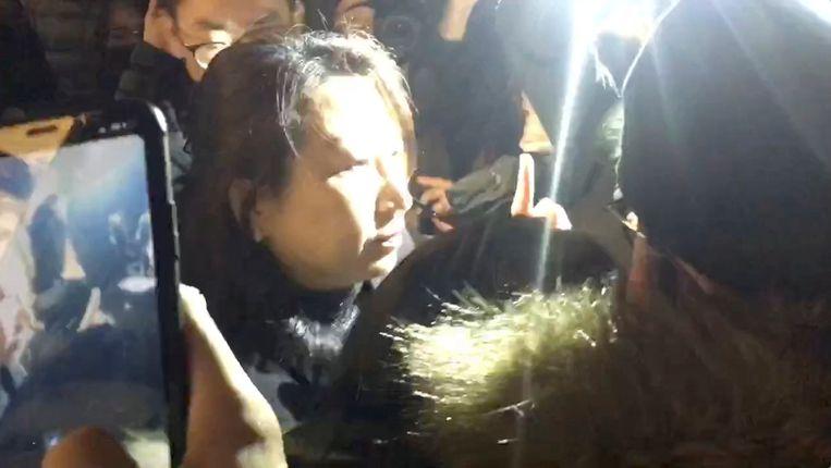 Teresa Cheng werd gisteren belaagd in Londen.
