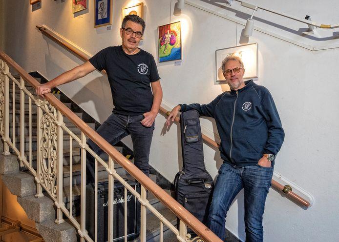 Hans van Oosten (l.) en Lenne Huisman van Serious Music