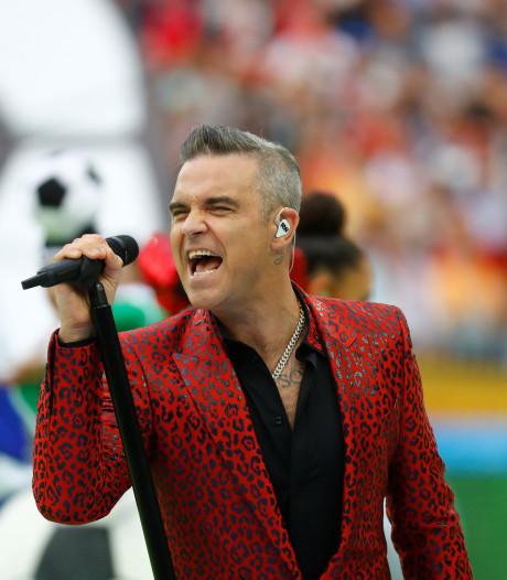 Robbie Williams geeft concerten in Amerika (waar hij nooit doorbrak)