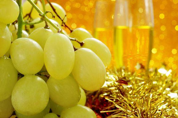 Druiven op oudejaar