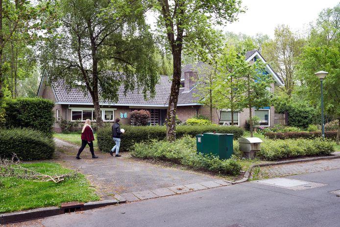 De villa aan de Meentweg 168 waar een tiener-azc komt.