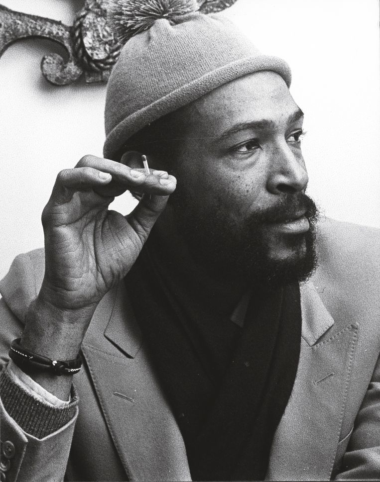 'Bij Marvin worden vier dingen overbelicht: seks, drugs, politiek, en dat hij een gewelddadige dood stierf. Ik onthoud zijn menselijkheid.' Beeld Herman Selleslags