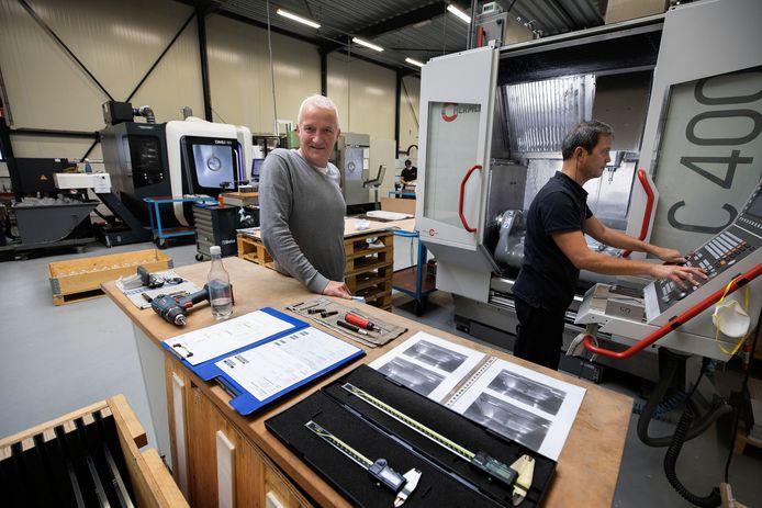 Rob van der Lee bij Kerbos in Son en Breugel.