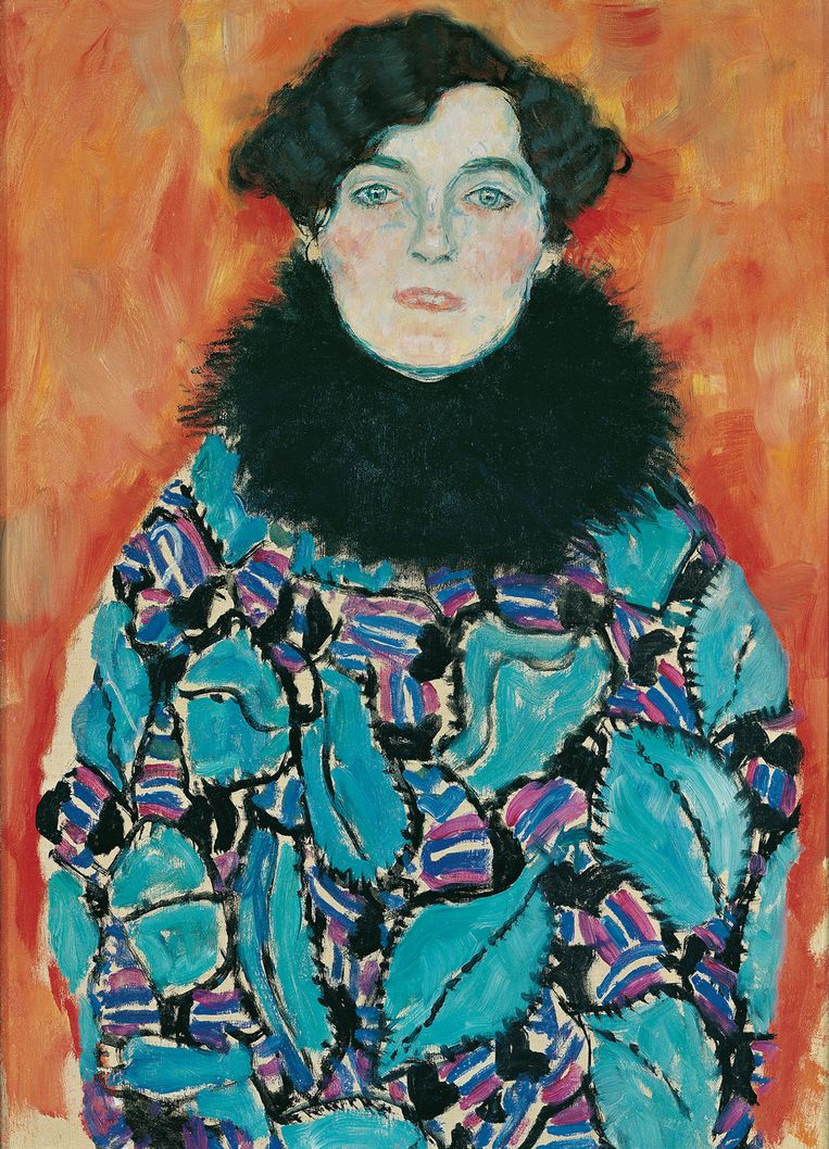Gustav Klimt, 'Johanna Staude' (1917-1918).  Beeld © Belvedere, Vienna