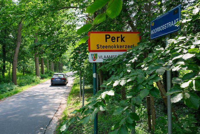 De Moorbosstraat in Perk.