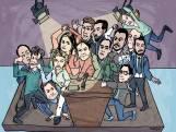 Politici met de billen bloot bij 010-debat