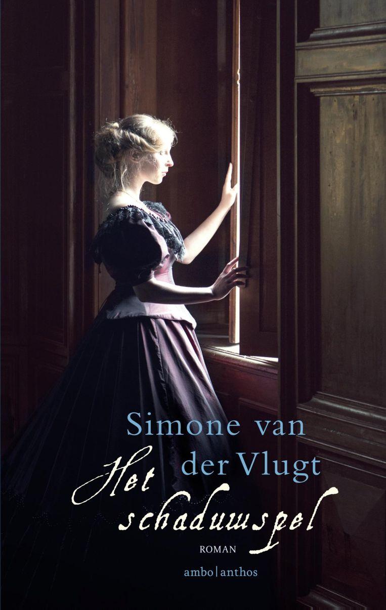Het boek het Schaduwspel van Simone van der Vlugt. Beeld