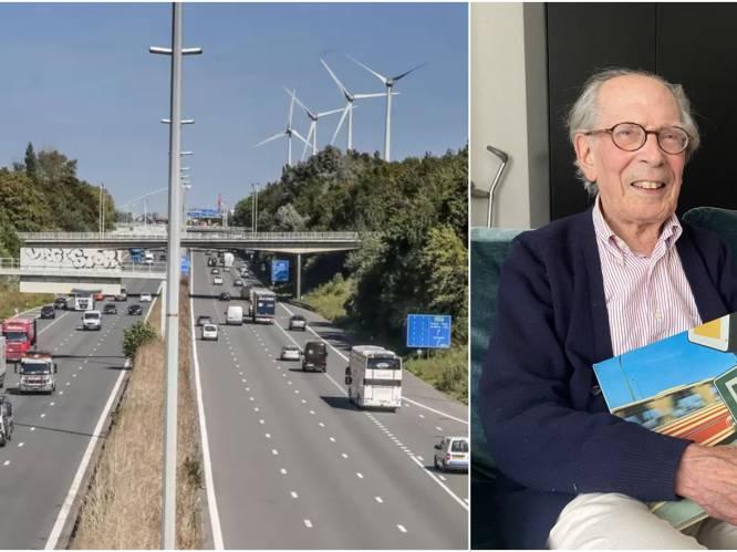 """AUTOSNELWEGVERHALEN. Antoon (89) opende 50 jaar geleden E17 in Kortrijk: """"Overkappen van snelweg zou fantastisch zijn voor buurtbewoners"""""""