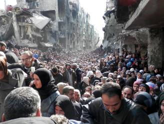 Indrukwekkende foto toont omvang noodhulp in Syrië