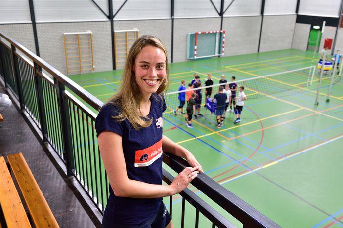 Naast volleybalster is Laura Habets bij VollinGo ook secretaris.
