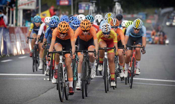 Nederland speelt ook bij de junior-vrouwen een vooraanstaande rol in het peloton, zo bleek tijdens het WK in Plouay. Nu komt er met TalentNED een specifiek juniorenteam.