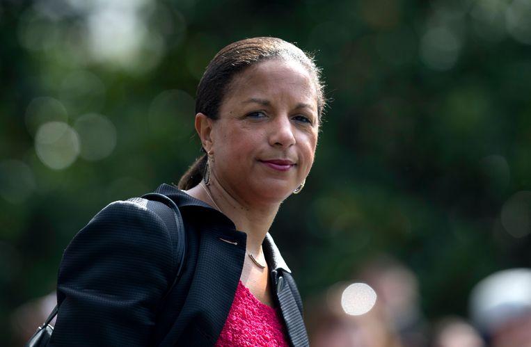 Susan Rice, de nationale veiligheidsadviseur van Obama, in 2016. Beeld AP