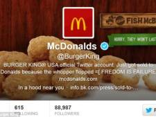 'Whopper Flopped': twitter-account Burger King gekaapt