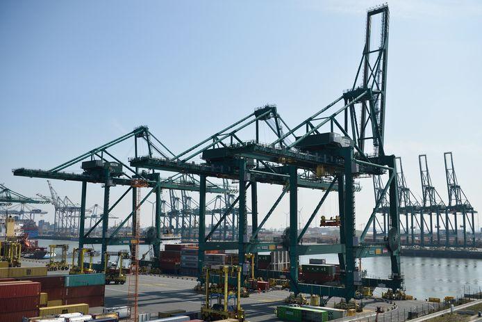 De Antwerpse haven, een illustratiebeeld.