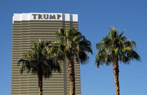 Het Trump Hotel in Las Vegas.