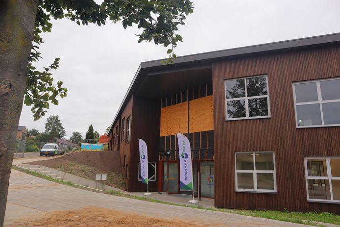 Het nieuwe kindcentrum De Horizon aan de Bantuinweg in Rhenen.