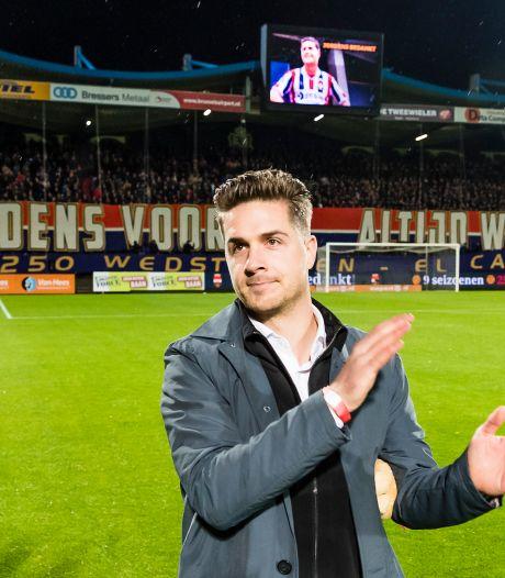 Jordens Peters neemt afscheid van Willem II: 'Definitief afscheid? Nee, tot ziens!'
