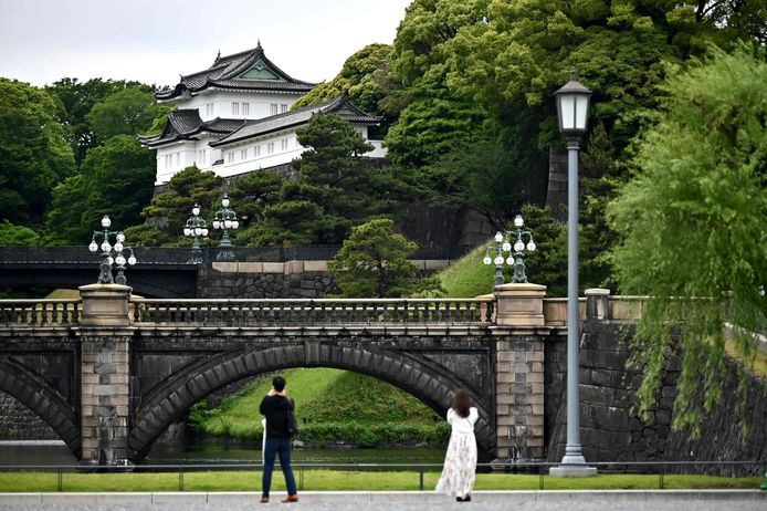 Le palais impérial est l'une des principales attractions touristiques de Tokyo.