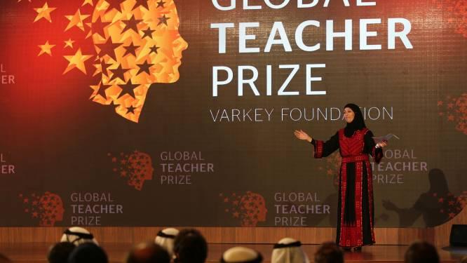 Palestijnse lerares wint prijs van 1 miljoen dollar