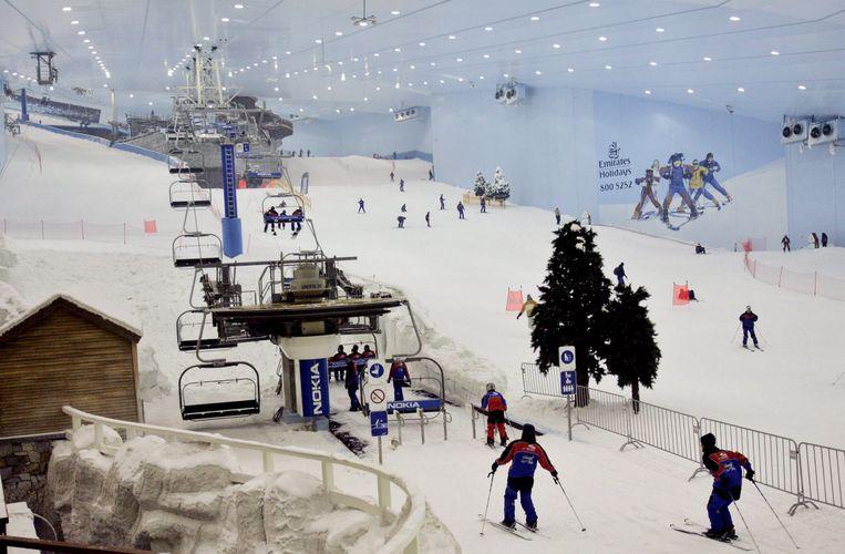 Ski-hal in Dubai, 2005. Beeld EPA