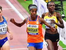 Overtuigende Hassan door naar halve finales 1.500 meter
