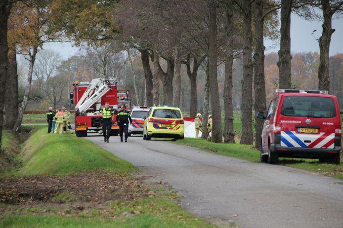 Bij het ongeluk in Holten kwamen twee personen om het leven.