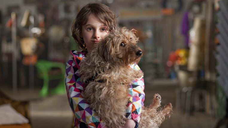 Pippa Allen in 'Patatje oorlog' van Nicole van Kilsdonk. Beeld