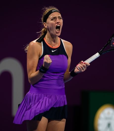 Kvitova balaie Muguruza à Doha et s'adjuge un 28e titre WTA