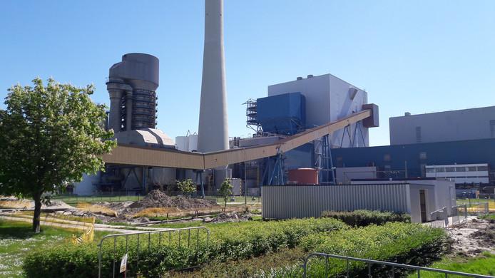 De kolencentrale van EPZ in Borssele.