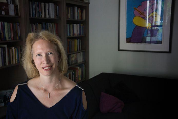Martine Paulusse neemt afscheid als voorzitter van netwerkclub Drukke Dames in Veldhoven.