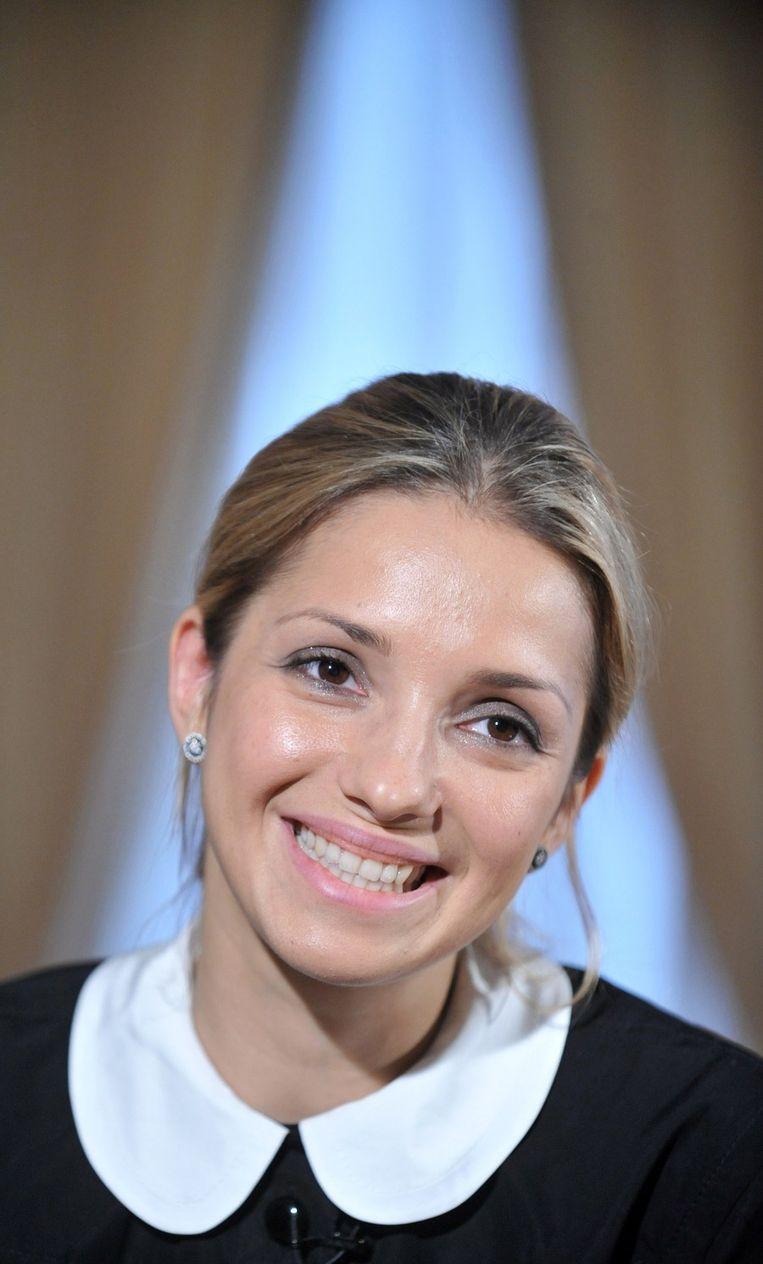 De dochter van Julia Timosjenko. Beeld afp