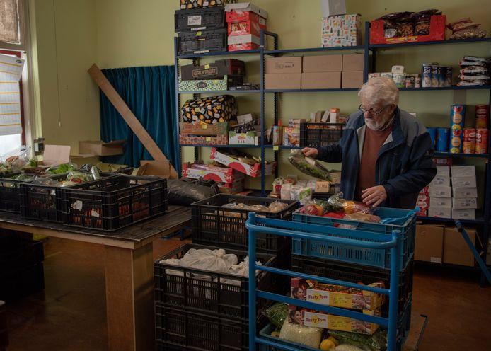 Jaap Schoof van de voedselbank Schouwen-Duiveland.
