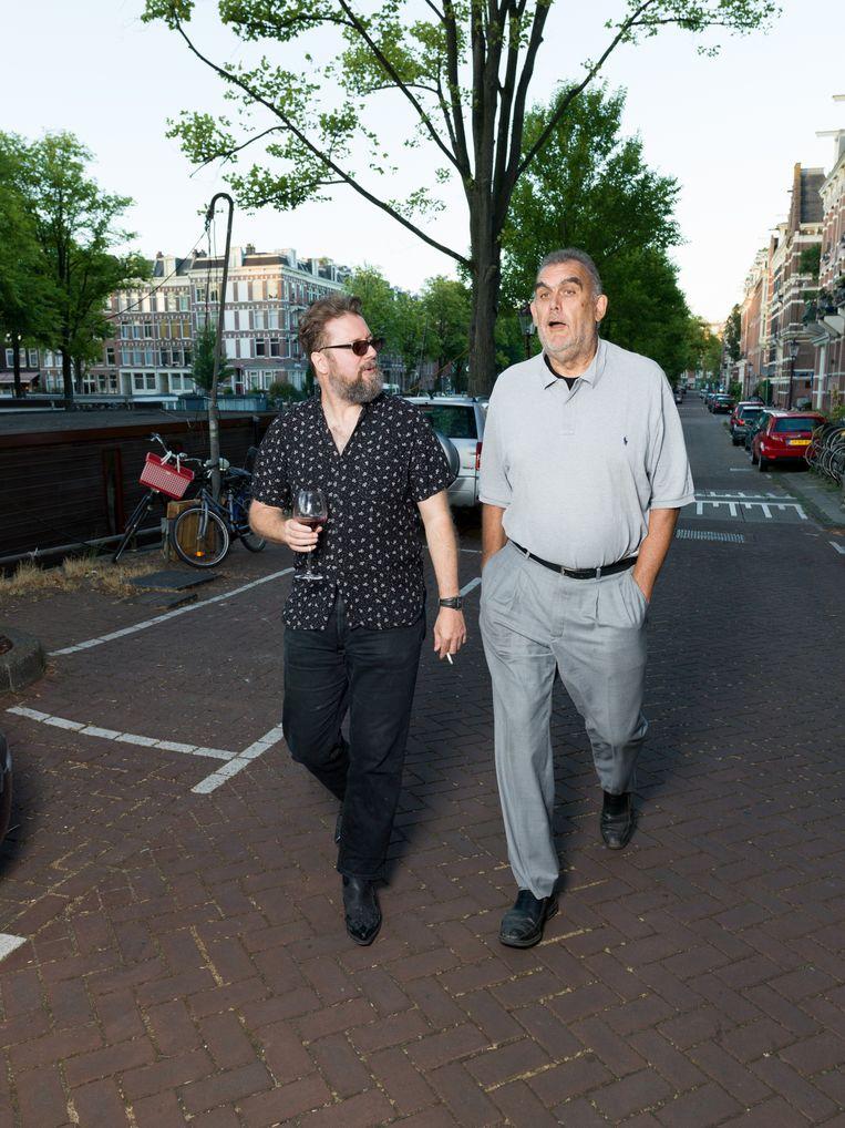 Rob Hoogland en Martin Koolhoven.  Beeld Ivo van der Bent