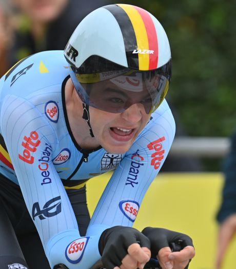 Troisième médaille belge aux mondiaux de cyclisme: le bronze pour Florian Vermeersch sur le chrono Espoirs