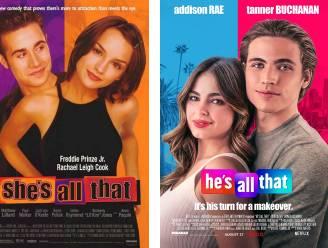 Guilty pleasure nu op Netflix: de remake van 'She's All That', maar met de genderrollen omgekeerd