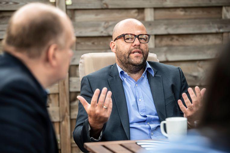 Wouter Duyck: 'De komende tien jaar zal ons onderwijs nog verder achteruitgaan, want ik zie geen ambitie om de trend te keren.' Beeld Marco Mertens