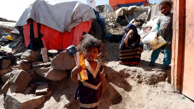 Doden en gewonden door brand in vluchtelingenkamp in Jemen