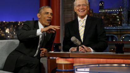 David Letterman heeft Obama als eerste gast in nieuwe Netflix-show
